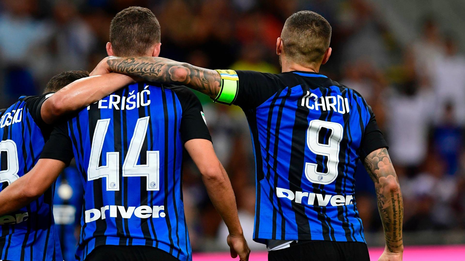 Icardi Perisic Inter