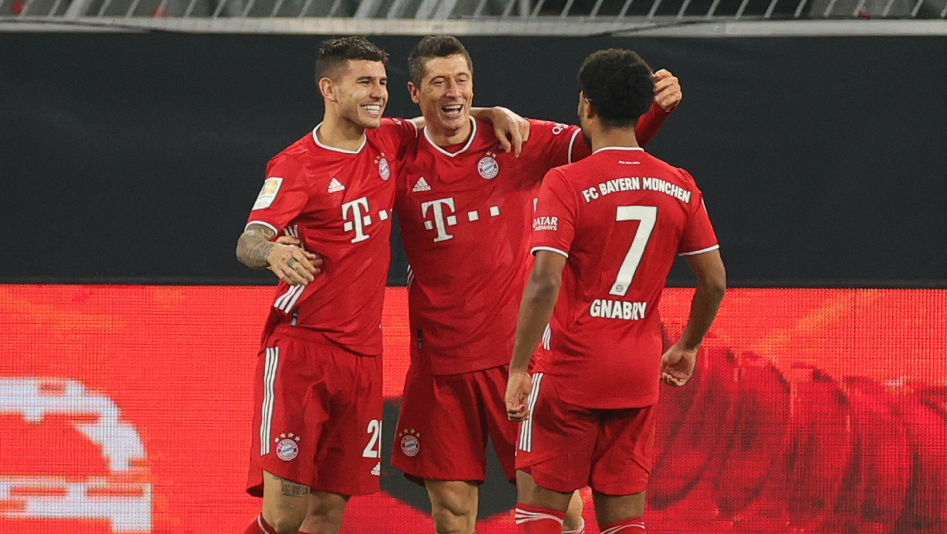 'I have the contract until 2023 and I never think what's happening after' - Lewandowski unsure on Bayern future