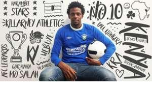 Paul Mungai Kiongera of Gor Mahia signs for Killarney Athletic.