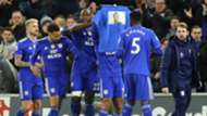 Cardiff celebrate vs Bournemouth