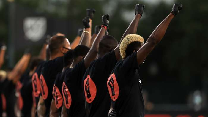 Black Players for Change, MLS, Black Lives Matter 2020