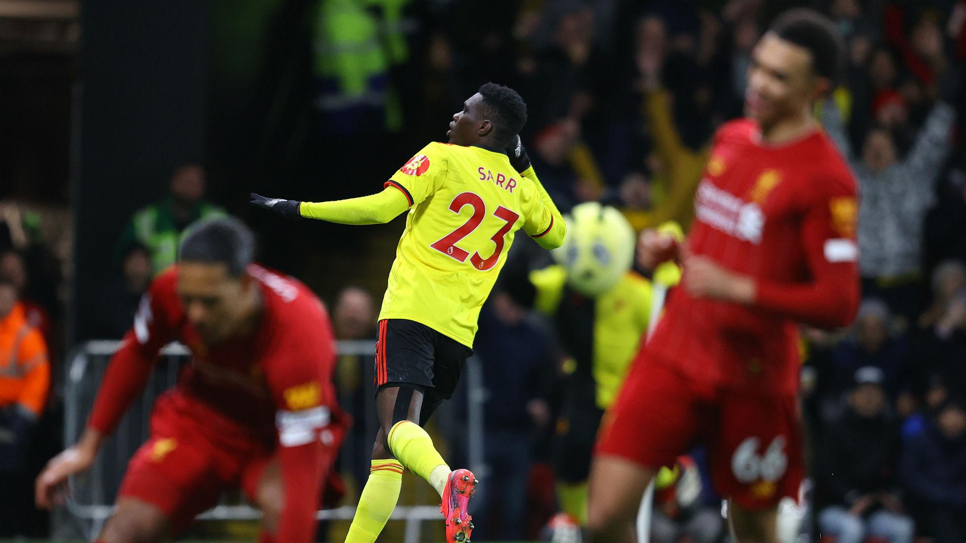 Ismaïla Sarr brise l'incroyable série de Liverpool — Watford