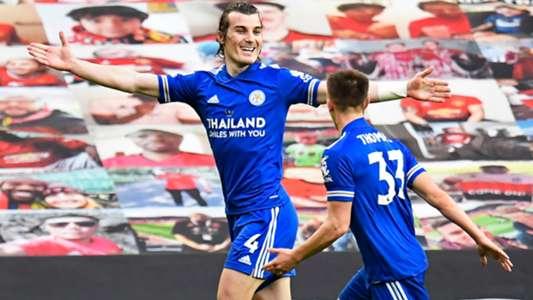 (Ngoại hạng Anh) Thua Leicester, MU dâng ngôi vô địch cho Man City