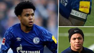 Weston McKennie Kylian Mbappe