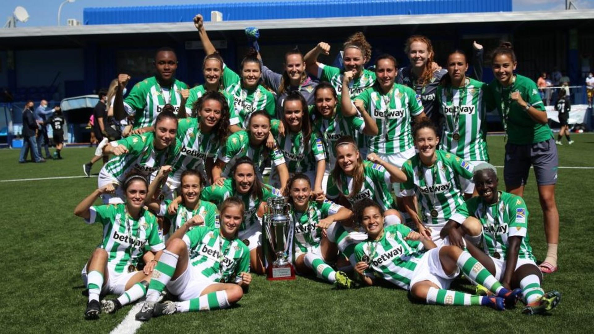 Abam and Chuigoue lift Andalusian Women's Cup with Real Betis
