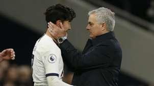 Mourinho Son Tottenham Burnley