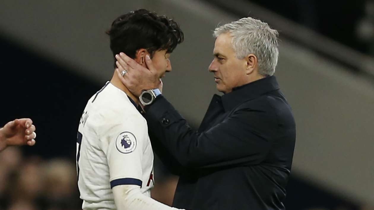 Mourinho doesn't expect Son to play again for Tottenham this season