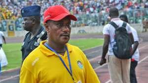 Ethiopia coach Ashenafi Bekele