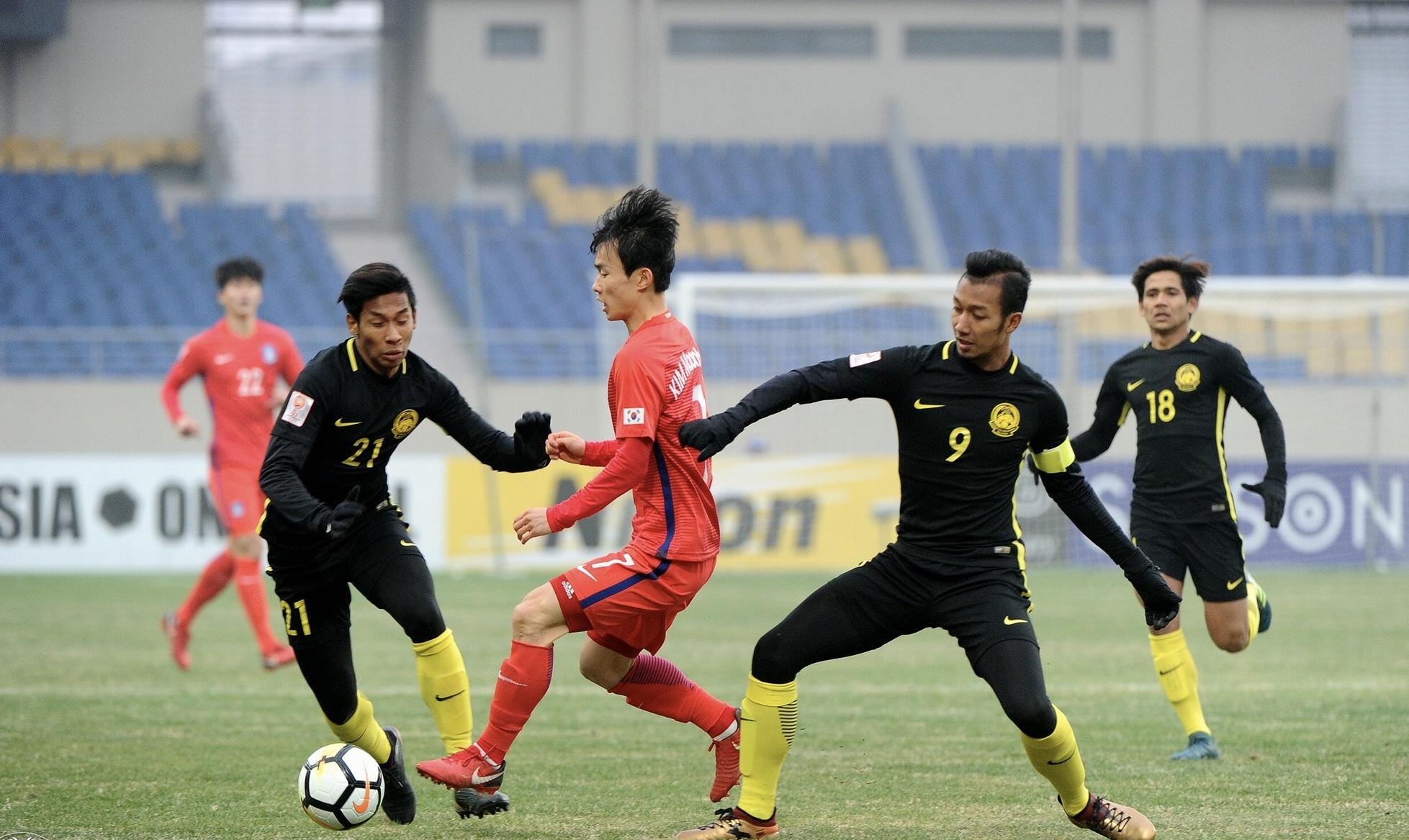 South Korea U23 2 Malaysia U23 1 Late Winner Breaks Malaysian Hearts Goal Com