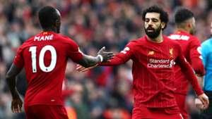 Sadio Mane, Mohamed Salah, Liverpool