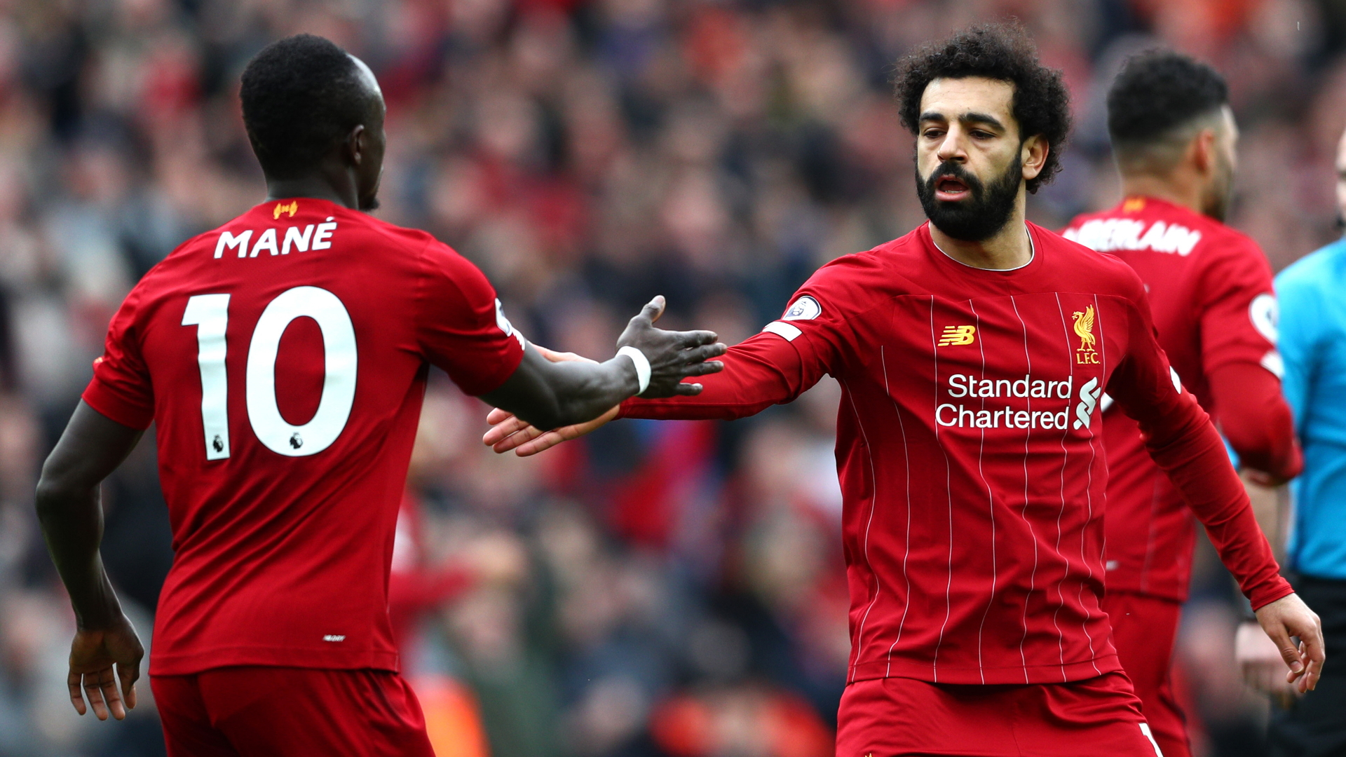 Image result for Mohamed Salah, Sadio Mane and Mohamed Sissoko