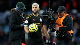 Sergio Aguero Manchester City 2019-20