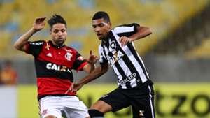 Matheus Fernandes Diego Ribas Flamengo Botafogo Copa do Brasil 23082017