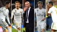Valverde, Modric, Zidane, Kroos y Casemiro, Real Madrid