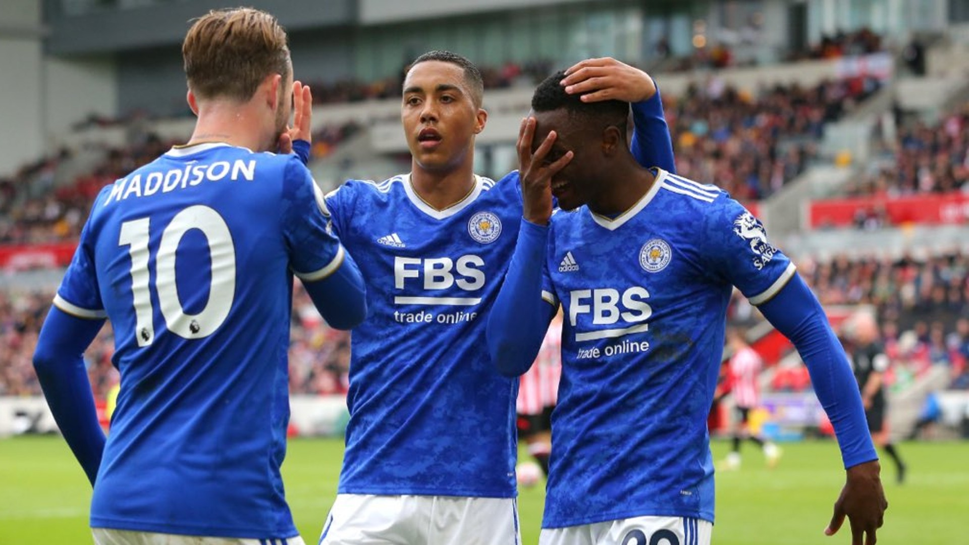 'Daka is not greedy and I knew he will pass to me' – Leciester City's Maddison on Brentford goal