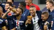 Neymar Kylian Mbappe Marco Verratti PSG Coupe de la Ligue