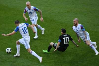 Lionel Messi Argentina Iceland World Cup 06/16/18