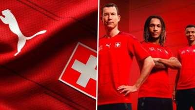 Switzerland Euro 2020 home kit Puma