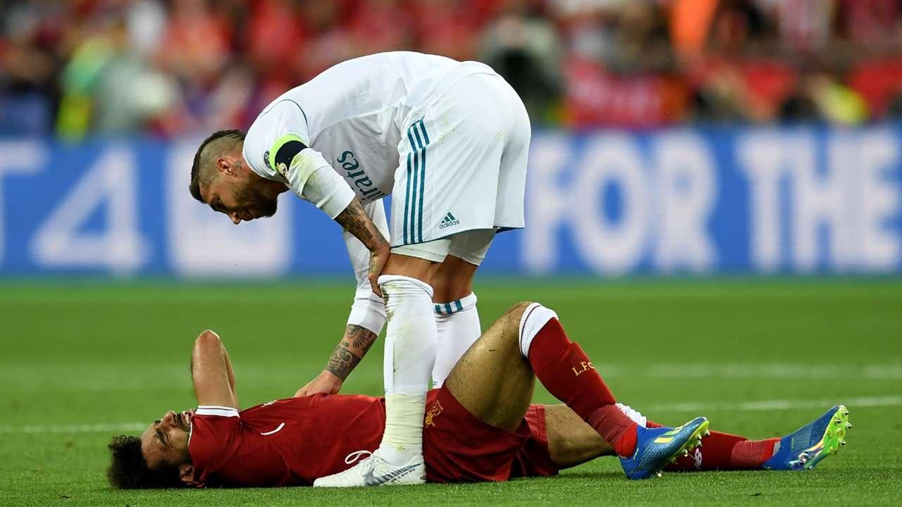 Ramos Salah Champions League 2017-18