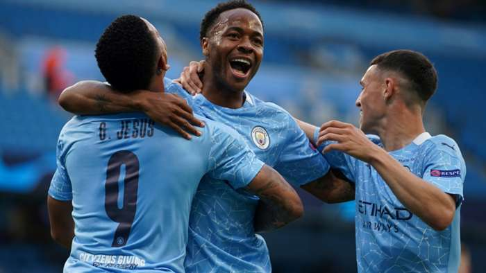 Raheem Sterling Manchester City 2019-20 Champions League