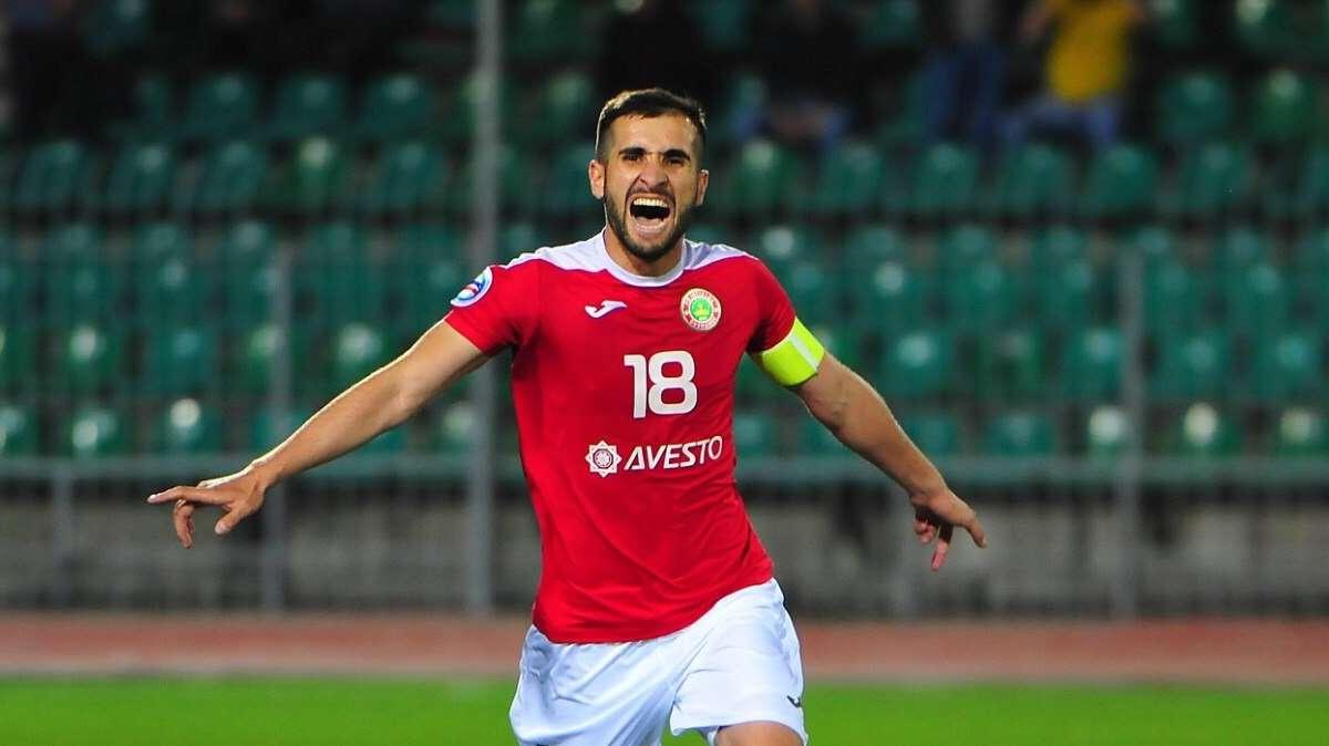 Asian winger Fatkhulo Fatkhuloev