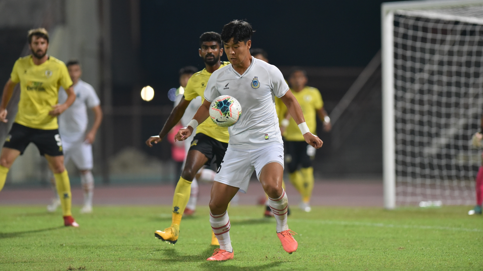 Park Tae-su, Kenny Pallraj, Sabah v Perak, Super League, 14 Mar 2020