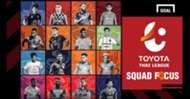 Squad Focus : ส่องขุมกำลัง 16 ทีม โตโยต้า ไทยลีก 2019