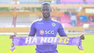 Papa Ibou Kebe Ha Noi FC V.League 2019