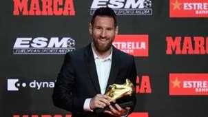 Lionel Messi wins sixth European Golden Shoe