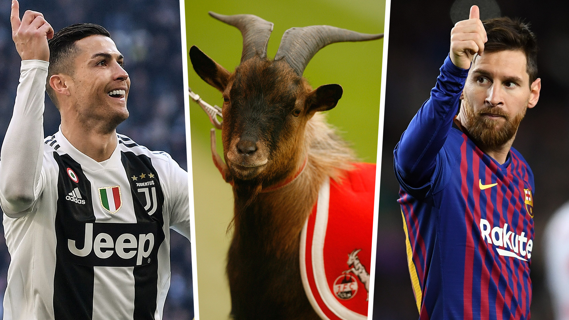 What is a GOAT in football? Lionel Messi vs Cristiano Ronaldo & the  greatest players of all-time | Goal.com