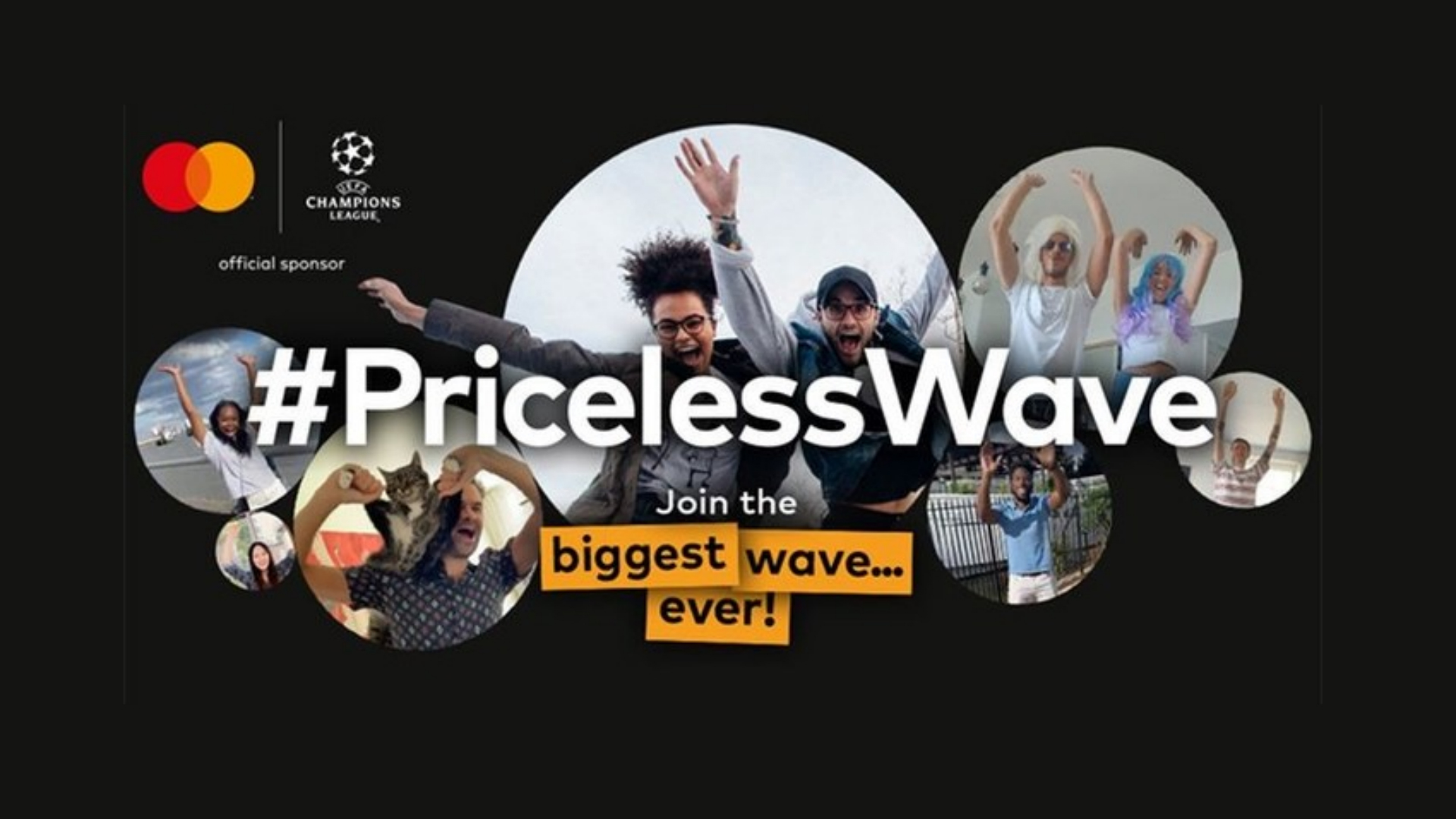 Celebrate the return of the UEFA Champions League by joining the world's biggest digital wave!