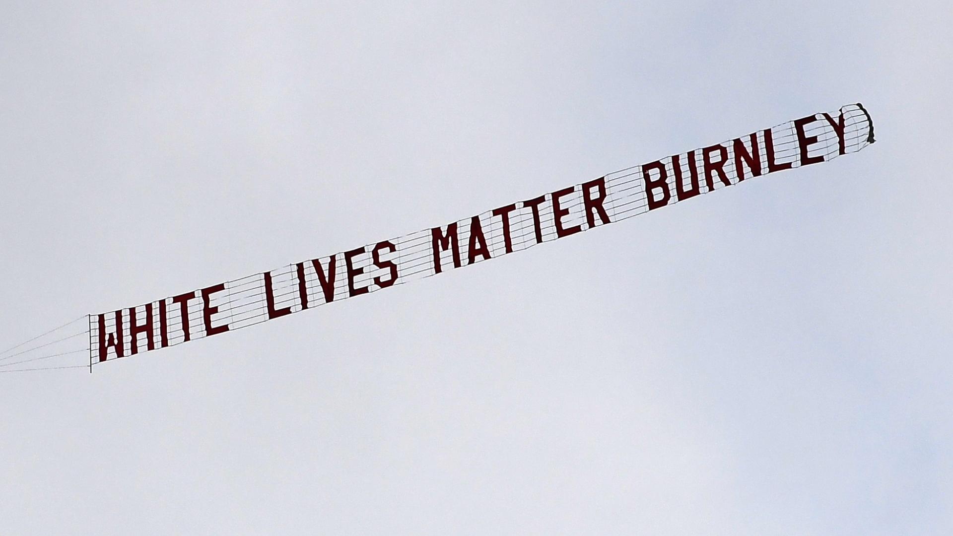 White Lives Matter plane