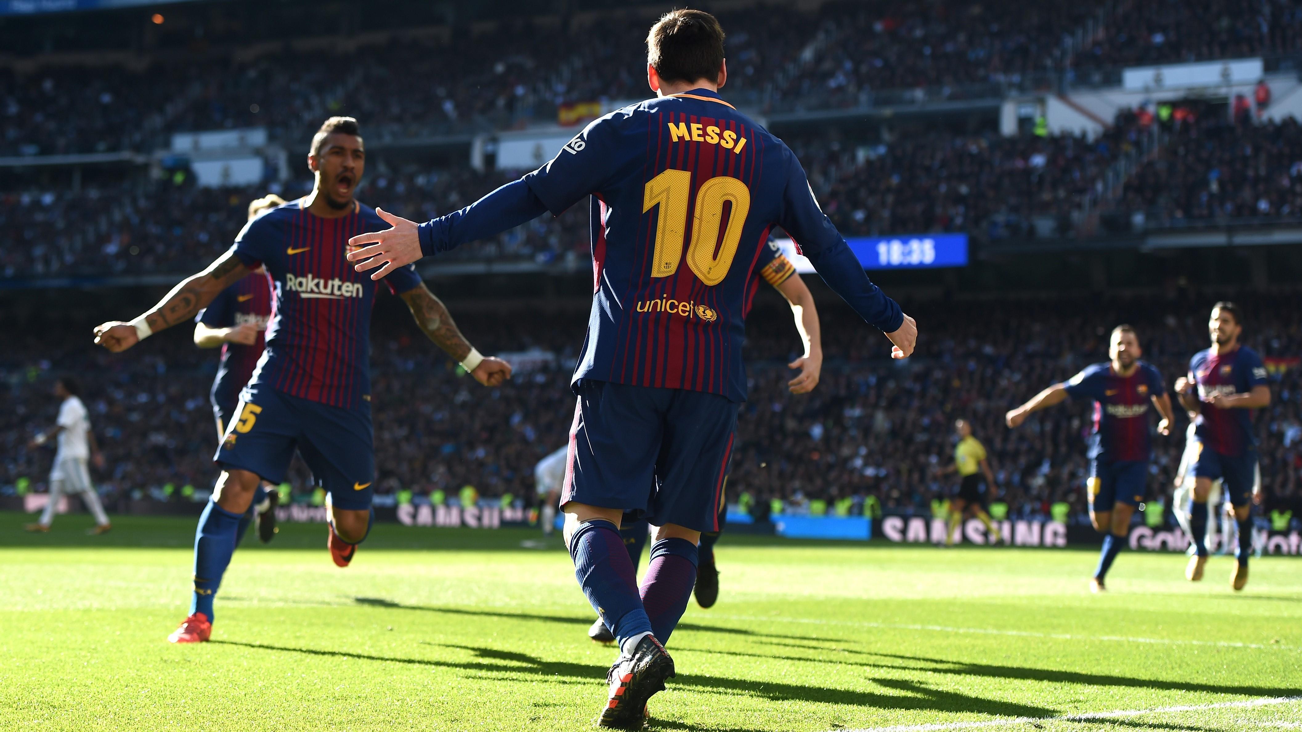 Lionel Messi Real Madrid Barcelona El Clásico LaLiga 23122017