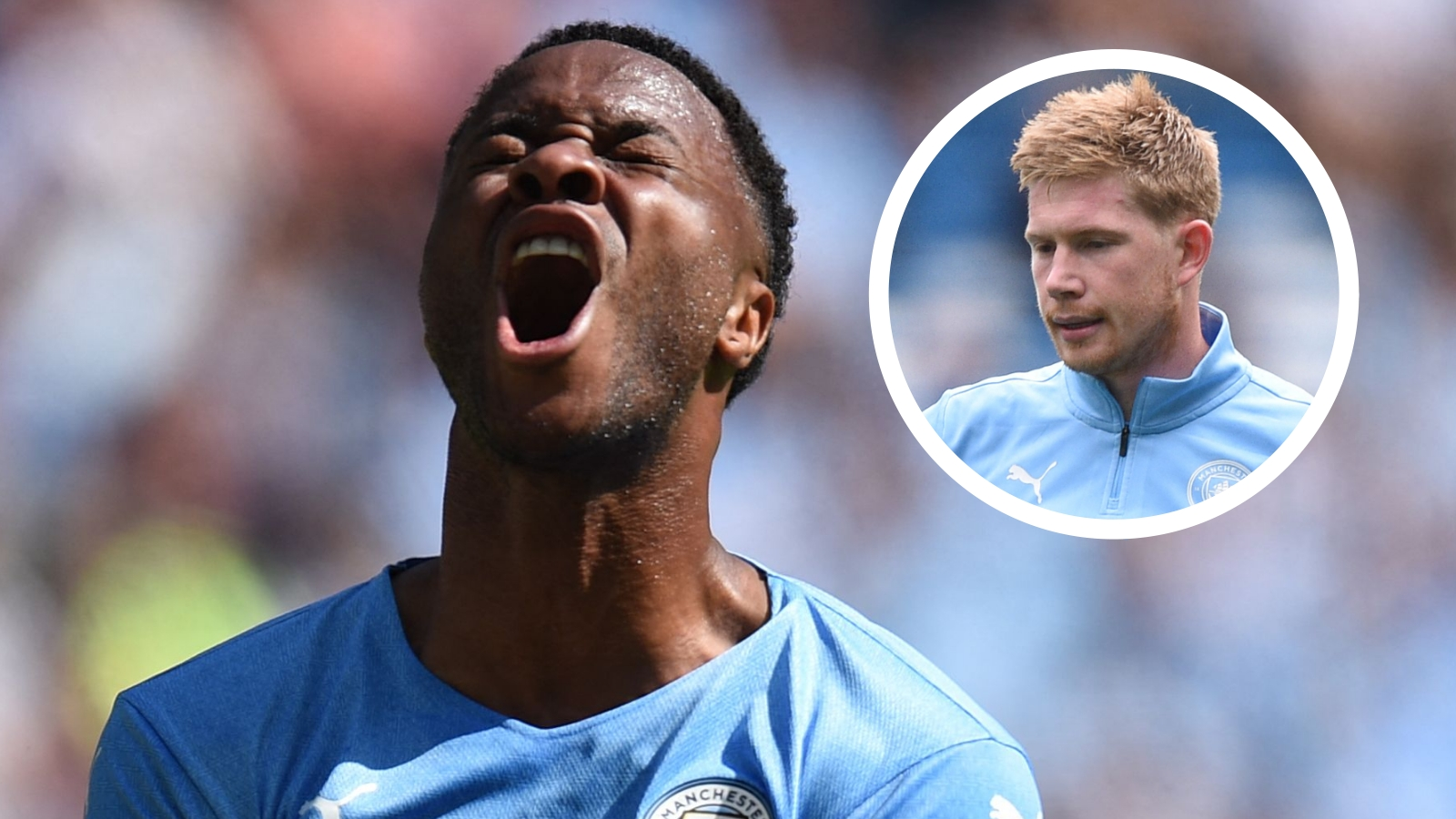 Sterling advised by De Bruyne amid Manchester City exit rumours