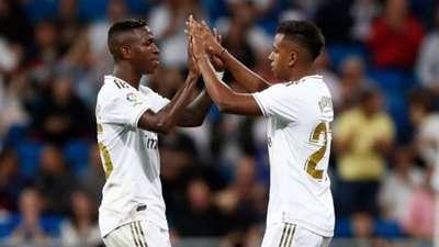 Vinícius Júnior Rodrygo Real Madrid 19/20
