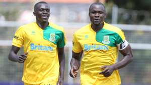 Mathare United captain Dennis 'Wise' Owino.