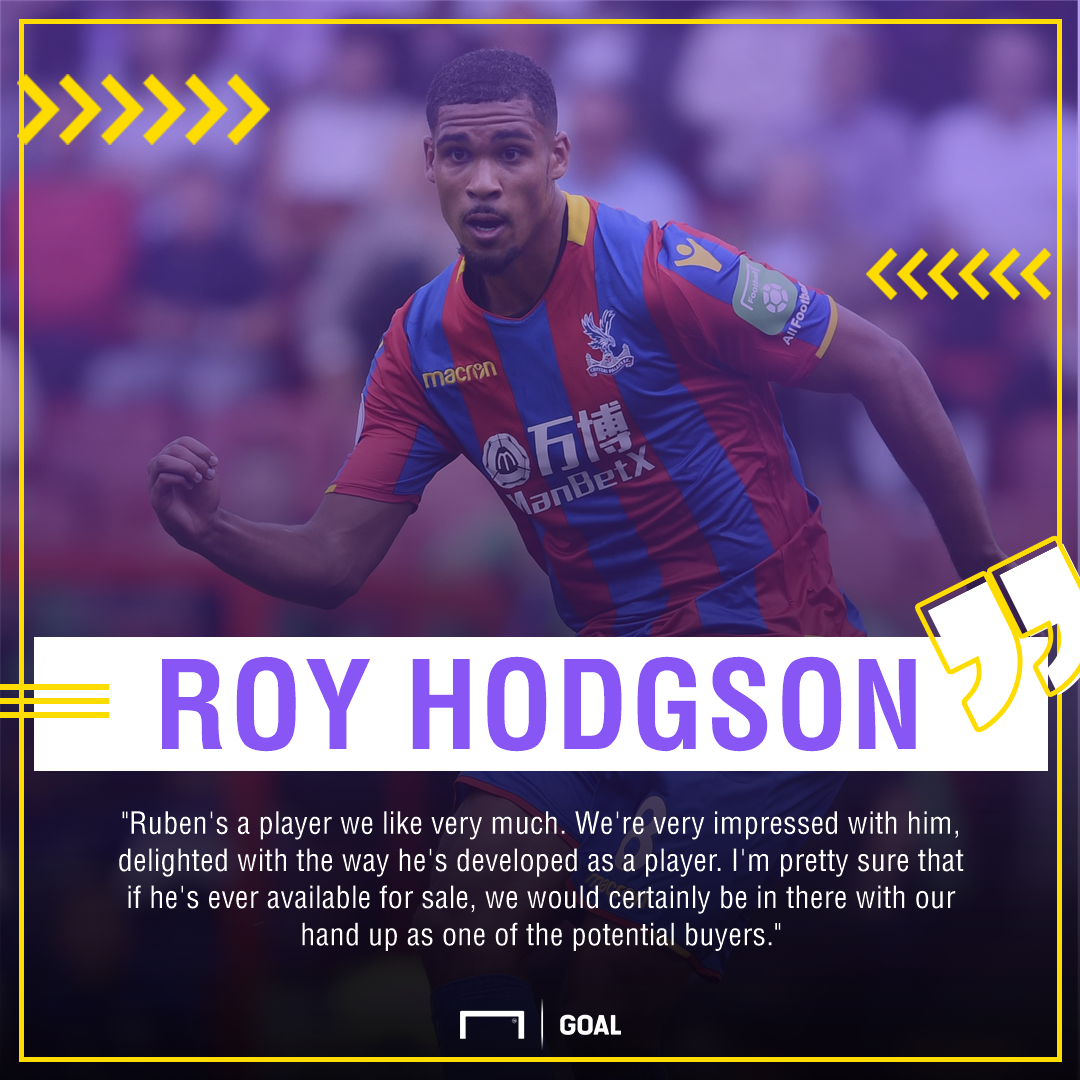 Roy Hodgson Ruben Loftus-Cheek interest