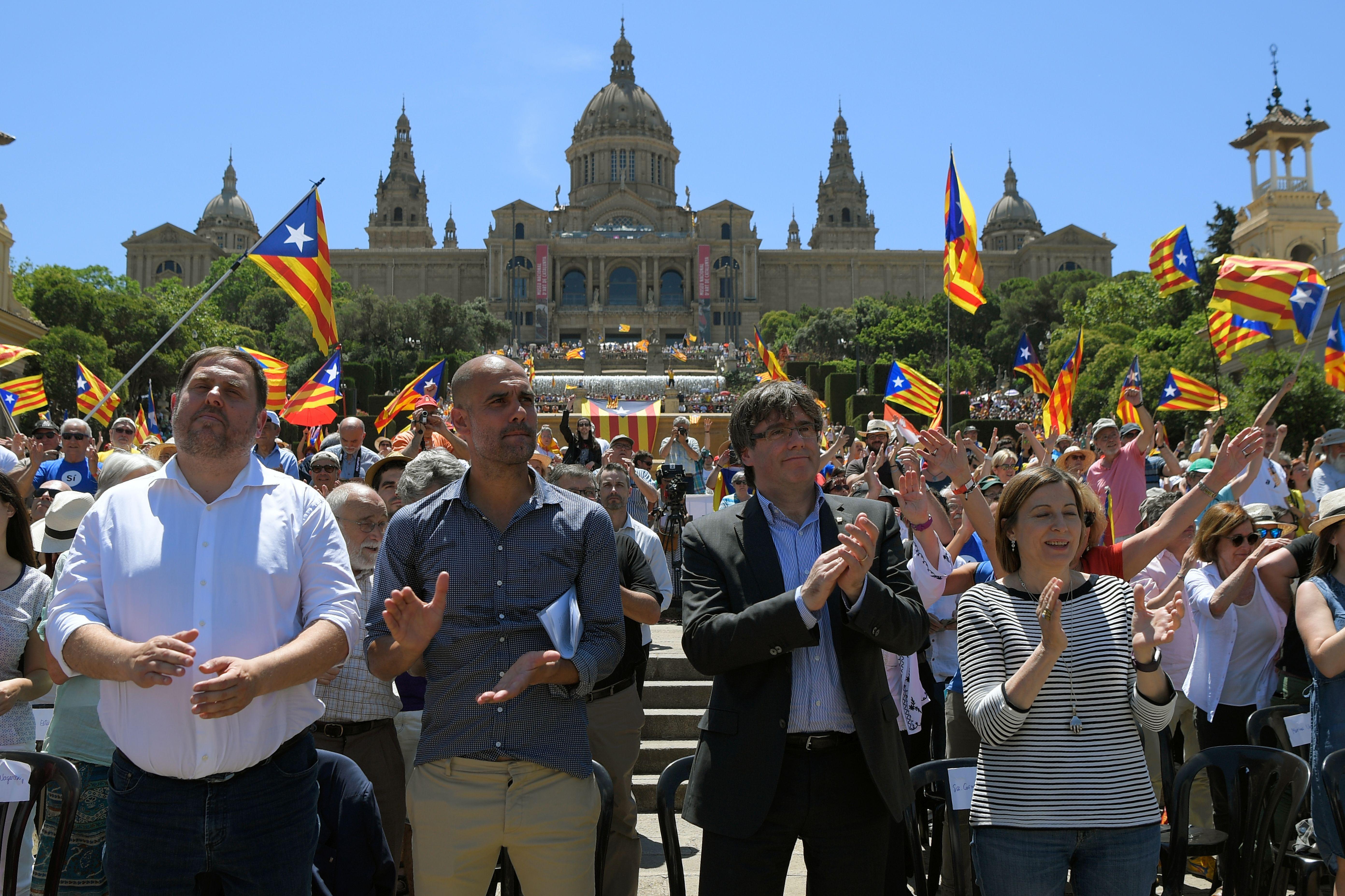 Pep Guardiola Catalunya independence