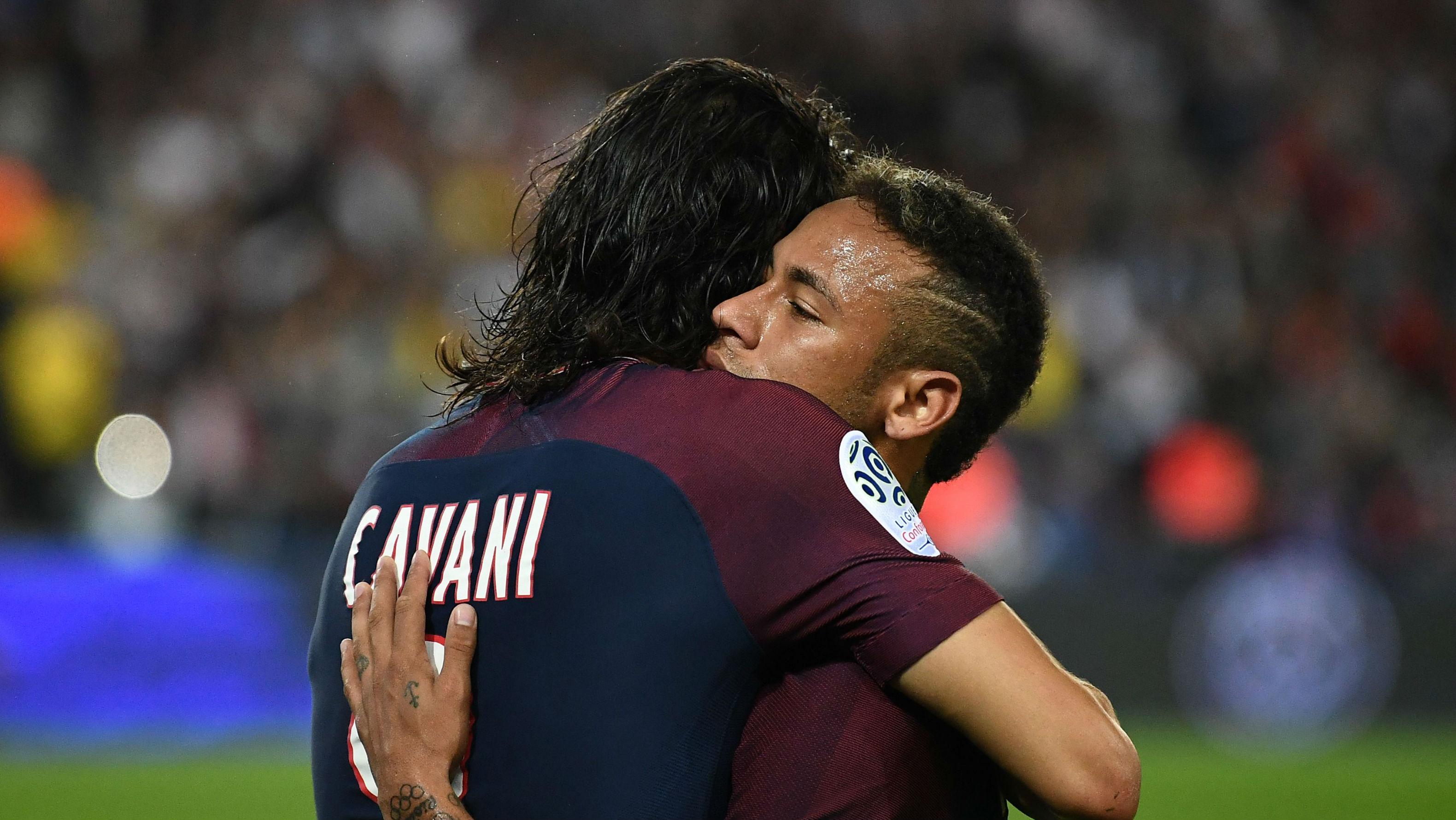 Edinson Cavani Neymar PSG