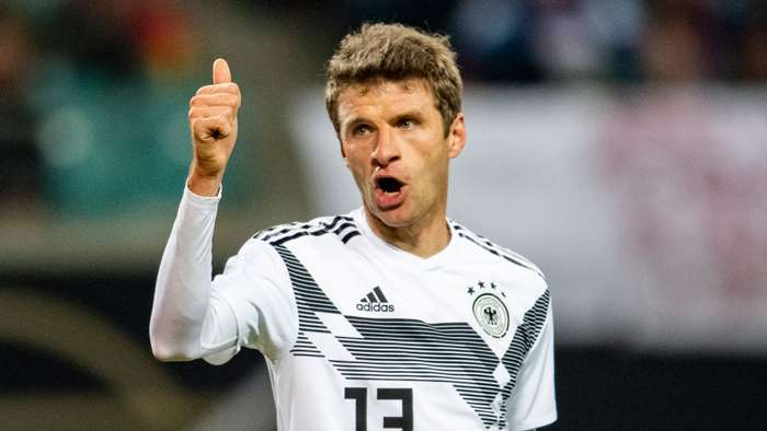 Thomas Muller, Germany 2018