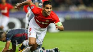 Radamel Falcao Monaco Besiktas UEFA Champions League 17102017