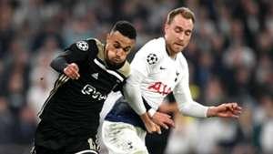 Noussair Mazraoui Christian Eriksen Tottenham Ajax Champions League 2019