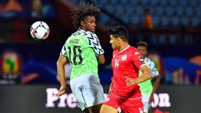 Alex Iwobi, Mohamed Drager  - Tunisia vs. Nigeria