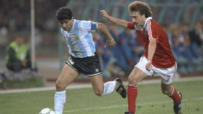 Diego Maradona Argentina Soviet Union 1990 World Cup