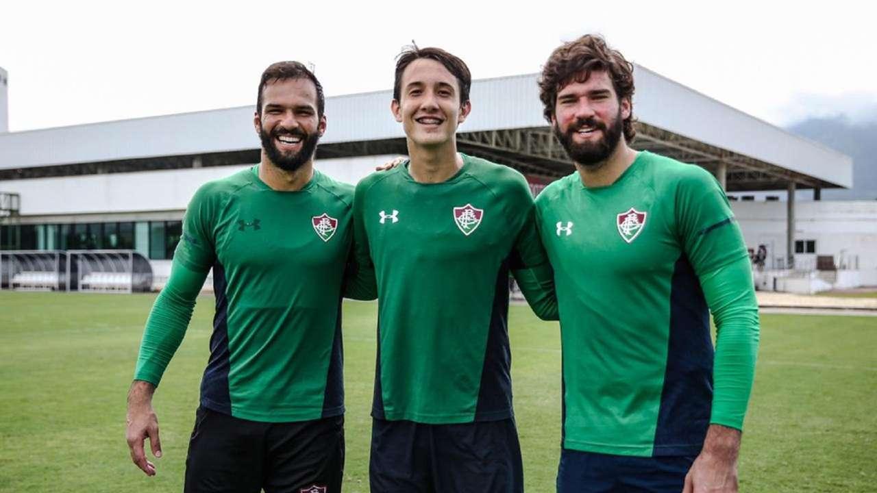 Pitaluga Alisson Fluminense Liverpool 2020