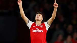 Gabriel Martinelli Arsenal Standard Liege Europa League 03102019