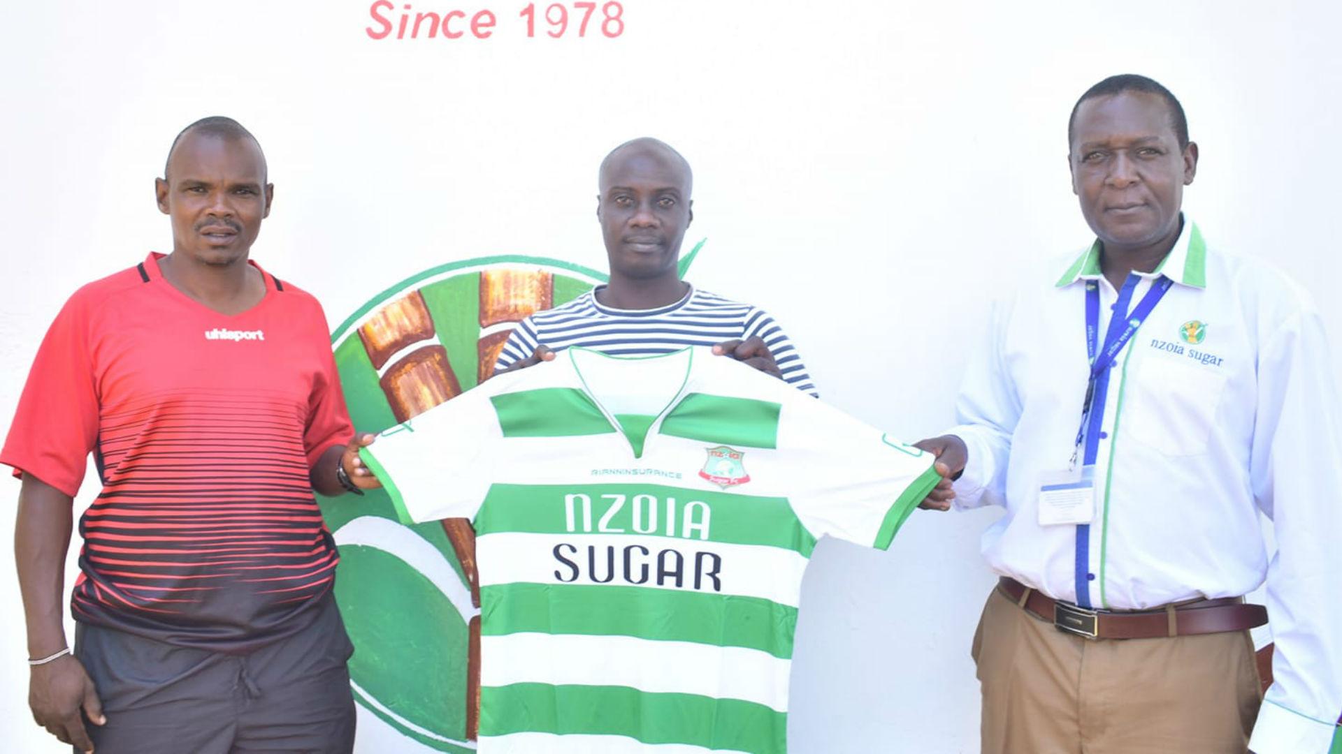 Shikanda named new coach at FKF Premier League side Nzoia Sugar