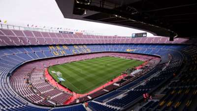 Camp Nou general view