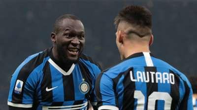 Romelu Lukaku Lautaro Martinez Inter