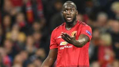 Romelu Lukaku Manchester United Champions League 23102018